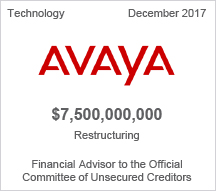 Avaya $7.2 billion restructuring